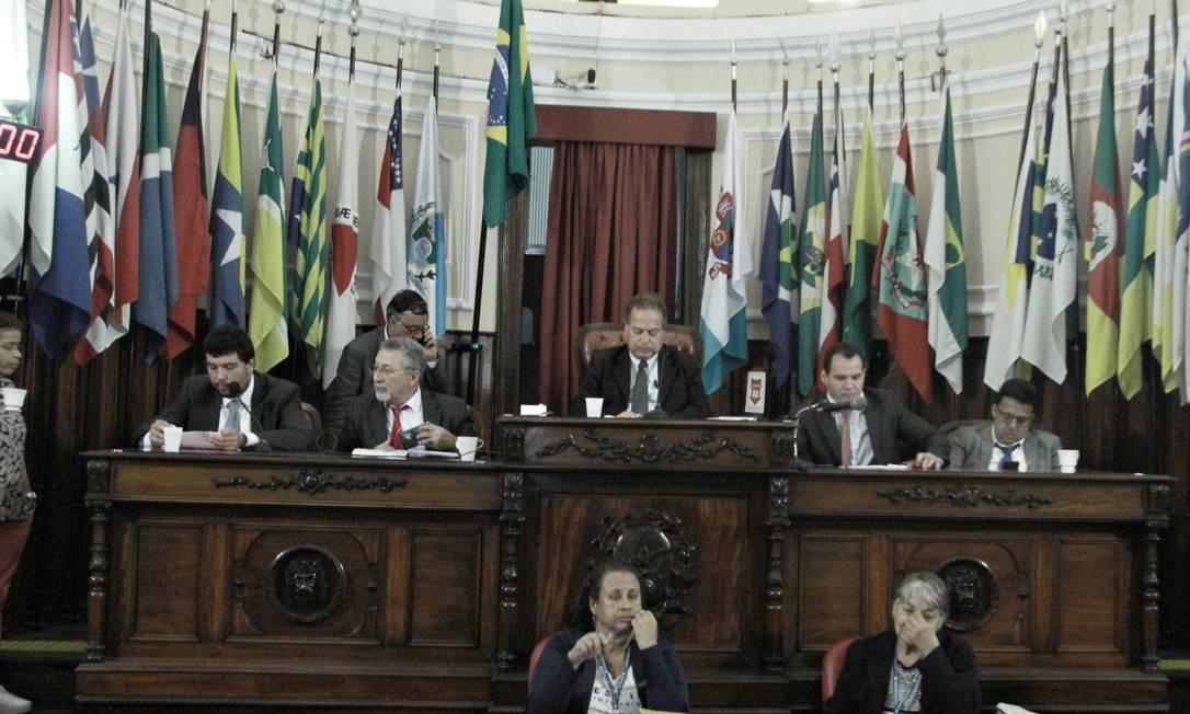Ultima sessão do ano na câmara de Niterói foi realizada dia 13 de dezembro. Foto: Sergio Gomes / Divulgação