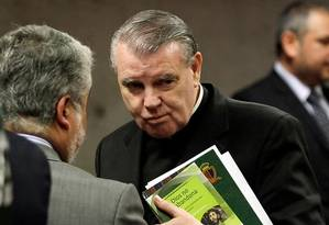 Padre O'Reilly: expulsão do Chile por condenação de abuso sexual de menor Foto: El Mercurio/GDA/2014