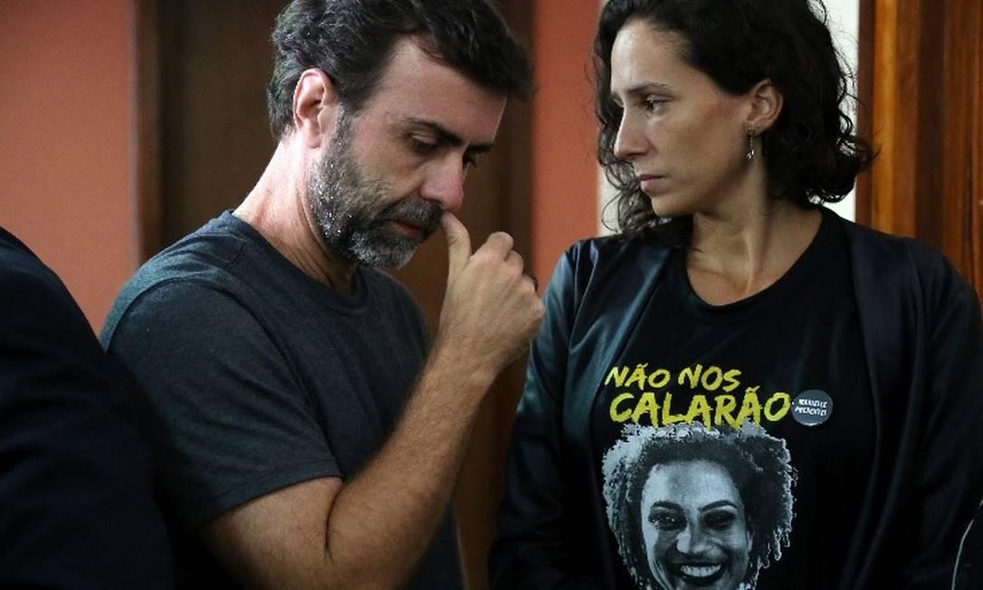 Marcelo Freixo disse que por muito pouco, a denúncia não se perdeu no caminho Foto: Agência O Globo