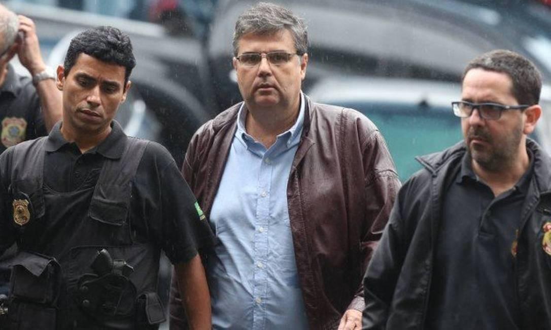 O deputado André Corrêa foi preso durante a operação Foto: Agência O Globo