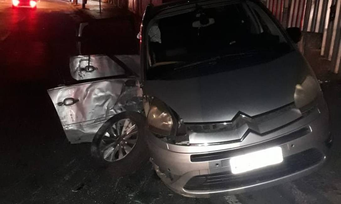 Acidente ocorreu na Rua Barão de Mesquita Foto: Redes Sociais