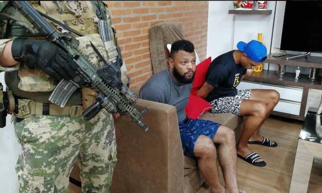 Preso no Paraguai chefe de facção criminosa brasileira