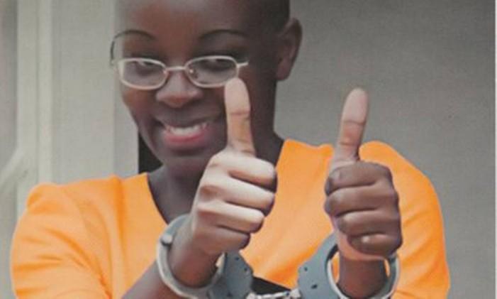 Victoire Ingabire Umuhoza, presa em Ruanda, nunca conseguiu ter seu partido registrado Foto: Reprodução