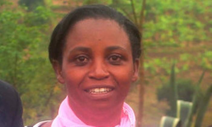 Illuminée Iragena, desaparecida desde março de 2016, pode ter morrido na prisão, segundo Anistia Internacional Foto: Arquivo Pessoal