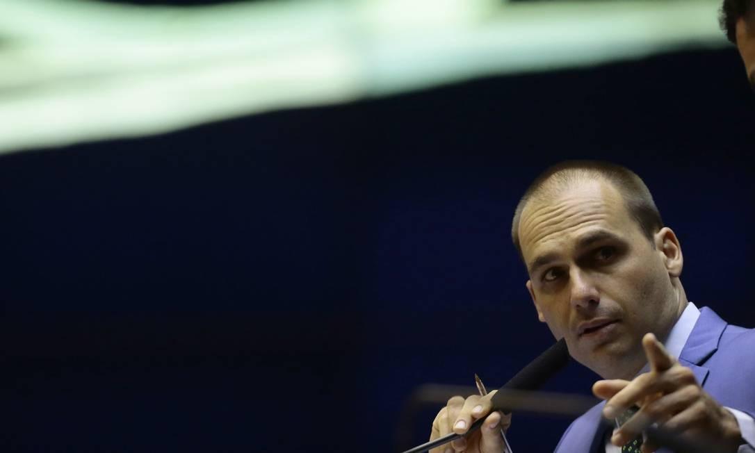 Eduardo Bolsonaro quer exceção para implantar pena de morte