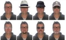 Polícia Federal divulgou retratos com possíveis disfarces de Cesare Battisti Foto: Polícia Federal