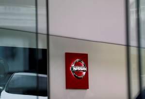 A logomarca da Nissan em uma loja no Japão Foto: Kim Kyung-Hoon/Reuters/14-12-2018