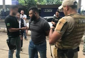 Capilé chega ao Rio após ser preso e expulso do Paraguai Foto: Divulgação