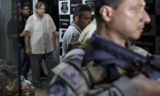 João de Deus deixa delegacia onde prestou depoimento em Goiânia Foto: Daniel Marenco / Agência O Globo