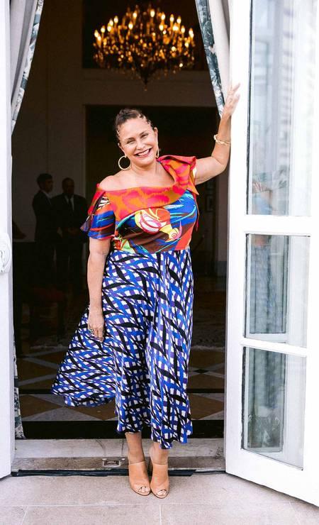 A cantora Fafá de Belém Foto: BRUNO RYFER
