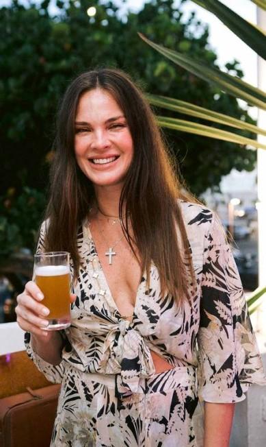 A atriz Leticia Birkheuer BRUNO RYFER