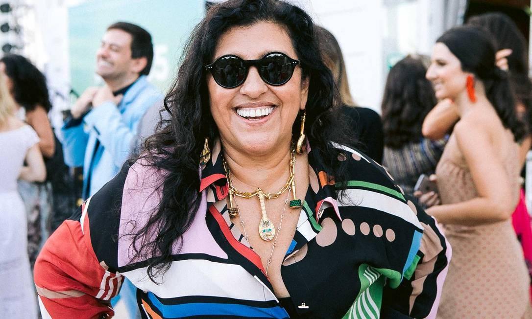 A apresentadora Regina Casé Foto: BRUNO RYFER