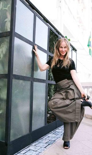A coreógrafa Deborah Colker, a estrela da capa da nossa edição de 55 anos BRUNO RYFER