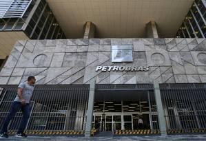 Sede da Petrobras, no Rio de Janeiro Foto: Sergio Moraes/Reuters