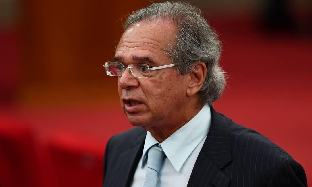 Futuro ministro da Economia, Paulo Guedes Foto: EVARISTO SA / AFP