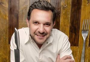 O chef Barão Foto: Sarah Montovani