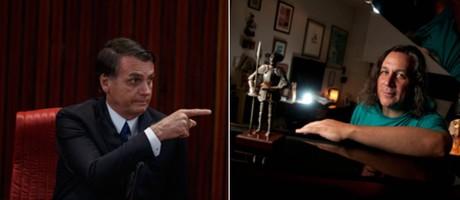 O presidente eleito, Jair Bolsonaro; o músico Renato Braz Foto: Daniel Marenco; Silvia Constanti / Agência O Globo; Valor