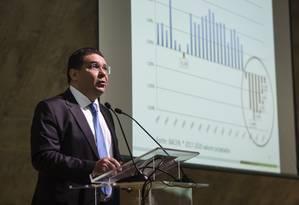 Mansueto de Almeida, secretário do Tesouro Nacional Foto: Fernando Lemos / Agência O Globo