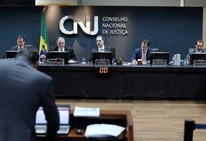Sessão ordinária do Conselho Nacional de Justiça (CNJ) Foto: Divulgação