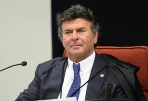 O ministro Luiz Fux, do Supremo Tribunal Federal (STF) 18/12/2018 Foto: Nelson Jr./STF