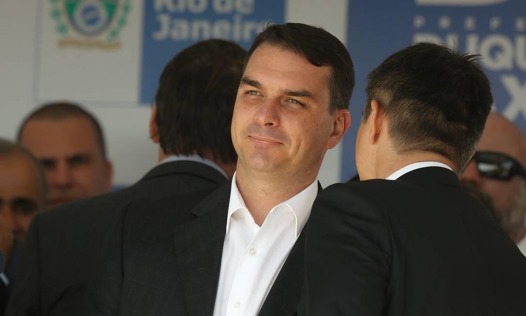 deputado estadual e senador eleito Flávio Bolsonaro 17/12/2018 Foto: Pablo Jacob / Agência O Globo