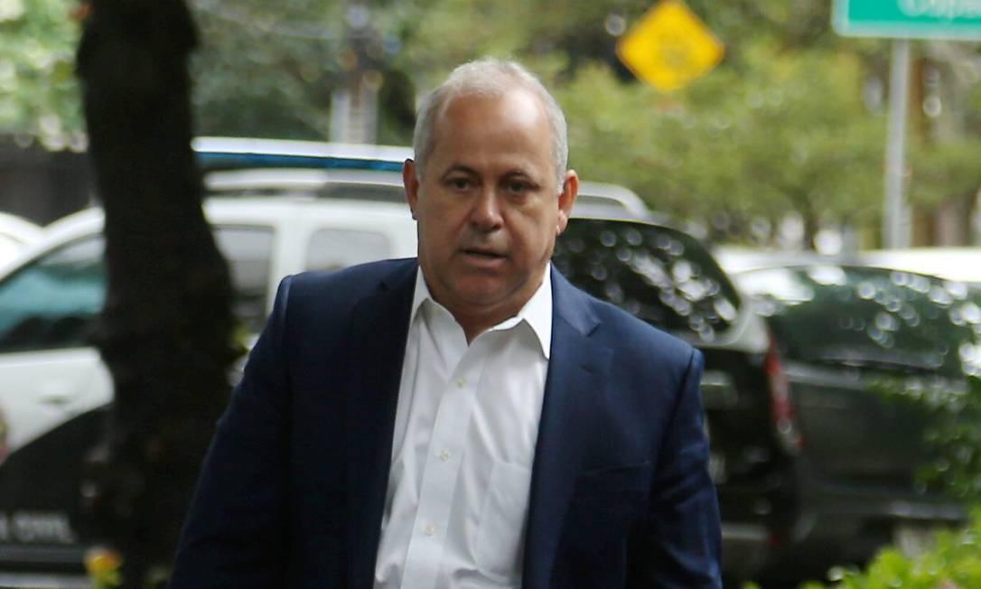Domingos Brazão, investigado na Lava-Jato, comparece à diplomação do governador Foto: Fabiano Rocha / Agência O Globo