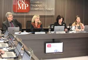 A procuradora-geral da República, Raquel Dodge, durante sessão do CNMP Foto: Sérgio Almeida/CNMP