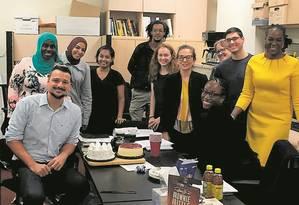 Chance. Jorge Jacob, à esquerda, fez sanduíche com bolsa pela FGV na Universidade de Columbia e hoje é professor e pesquisador na instituição americana Foto: Acervo pessoal