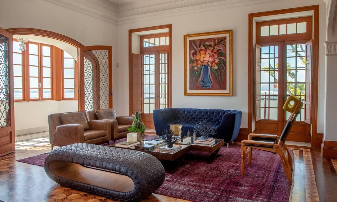 Palacete reformado por Jairo de Sender Foto: André Nazareth