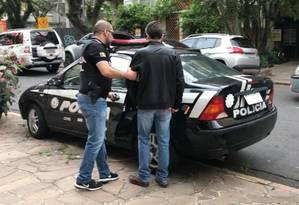O estudante universitário foi preso no ano passado, enquanto fazia plantão em um hospital em Porto Alegre Foto: Divulgação/MP-RS