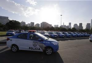 Em julho, outras viaturas foram entregues à PM Foto: Antonio Scorza / Antonio Scorza