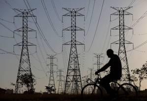 Linhas de transmissão de energia Foto: Reuters