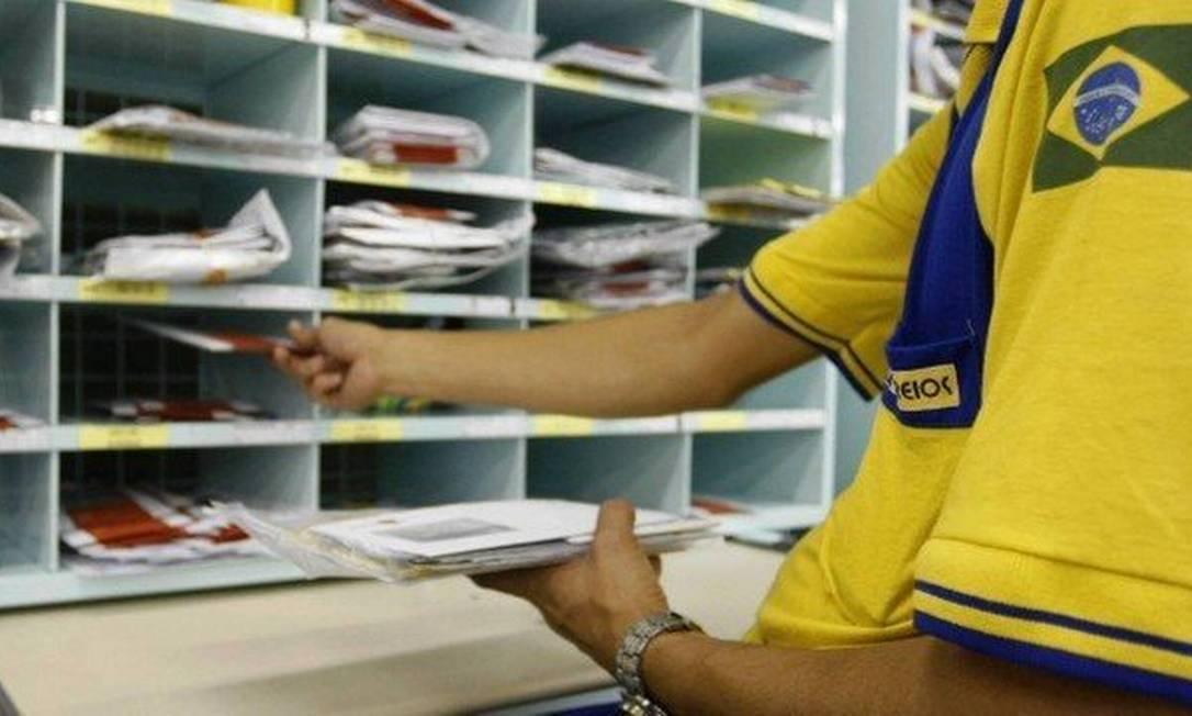 Correios está na lista de privatizações Foto: Agência O Globo