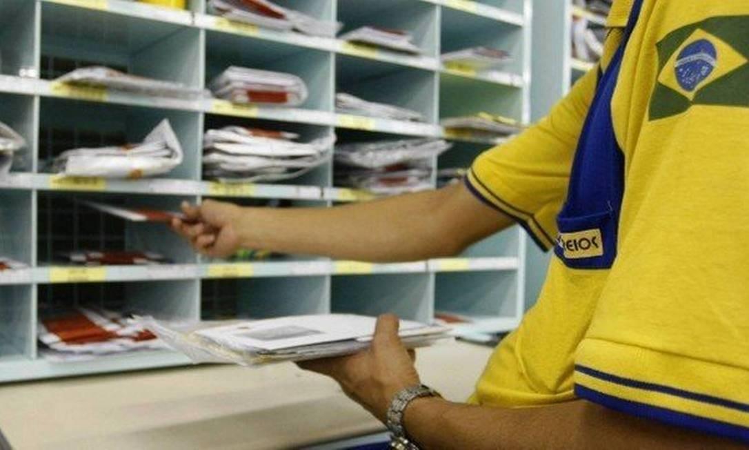 Bolsonaro que ao menos uma privatização de estatal por semana. Correios na mira Foto: Agência O Globo