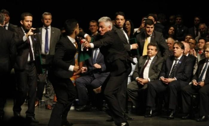 Cerimônia de diplomação de eleitos por Minas Gerais Foto: Divulgação