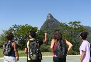 Mirante Dona Marta é um dos pontos turísticos visitados Foto: Pedro_Teixeira / Agência O Globo