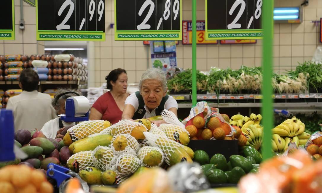 BC prevê inflação de 3,9% para 2019 Foto: / Custódio Coimbra/07-02-2018