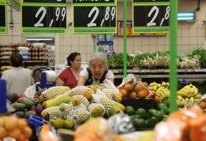 BC prevê inflação de 3,9% para 2019 Foto: Custódio Coimbra/07-02-2018