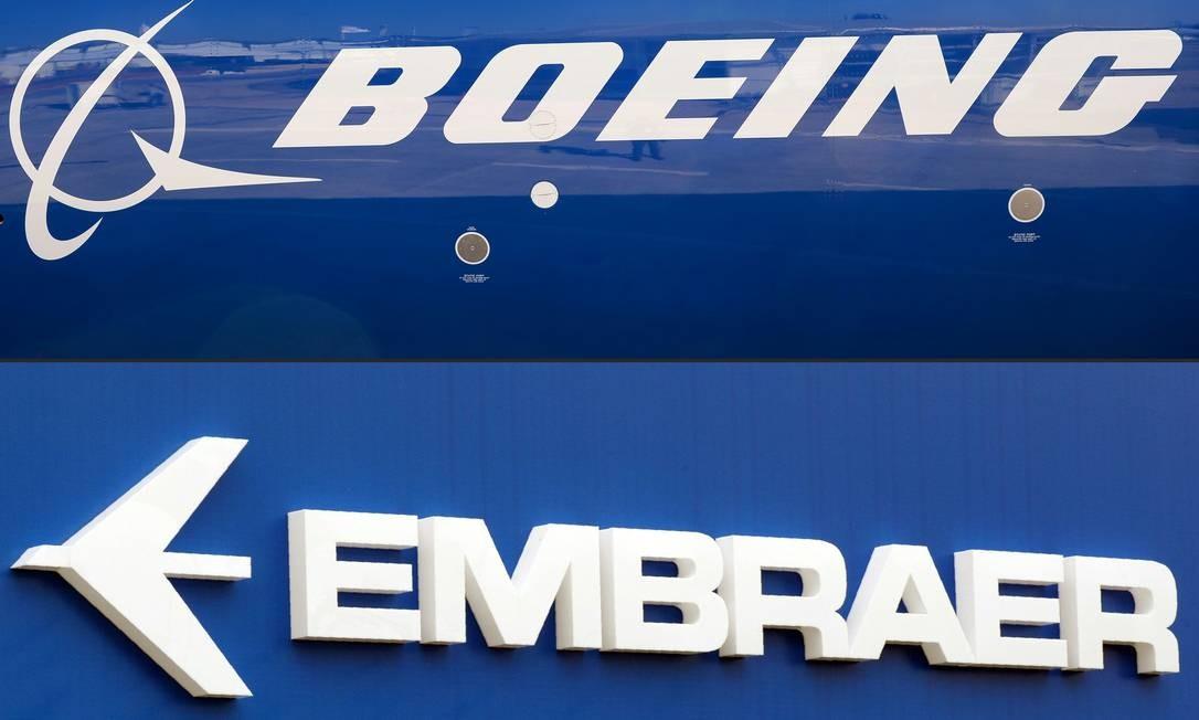 Embraer e Boeing fizeram acordo nesta semana: fabricante brasileira vai repassar ao controle da companhia americana 80% de sua divisão de aviação comercial Foto: ERIC PIERMONT / AFP