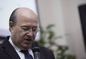 O presidente do Banco Central, Ilan Goldfajn, não se comprometeu com quedas na taxa Selic Foto: Bruno Rocha/Fotoarena / Agência O Globo / Agência O Globo