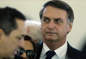 Presidente eleito, Jair Bolsonaro, em Brasília Foto: Jorge William / Agência O Globo