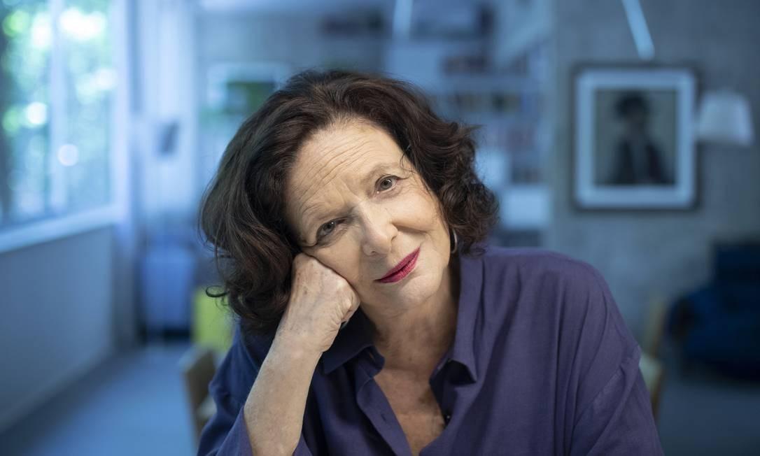 Heloisa Buarque de Hollanda: pesquisadora lançou 'Explosão feminista', pela Companhia das Letras Foto: Leo Aversa / Agência O Globo