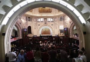 Plenário da Alerj em dia de votação. Arquivo: 10/04/2018 Foto: Gustavo Miranda / Agência O Globo