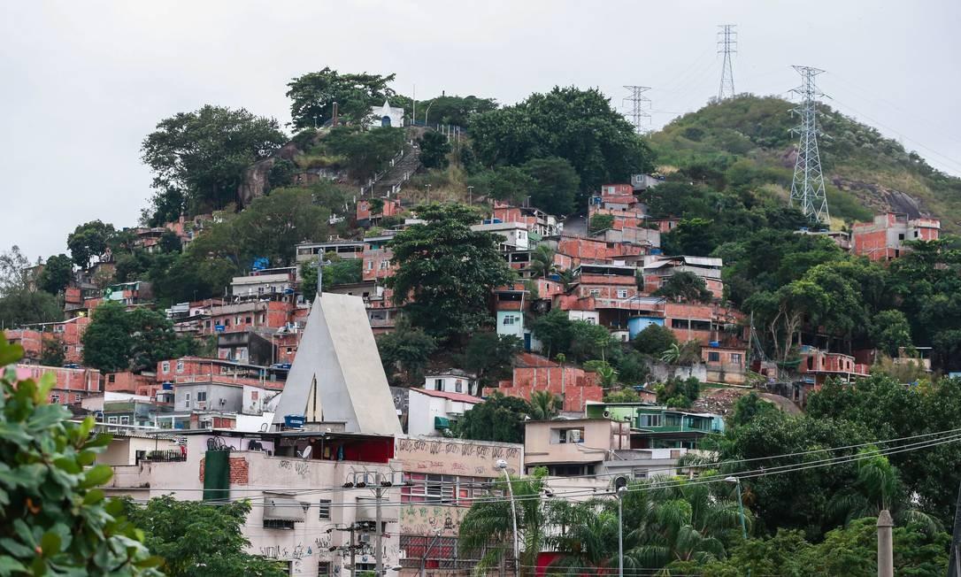 Comunidade da Serrinha, em Madureira (Arquivo) Foto: Marcelo Régua / Agência O Globo