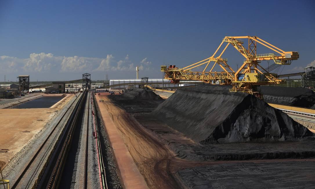 Anglo American volta a operar sistema Minas-Rio após meses de atividades suspensas Foto: / Dado Galdieri/04-12-2014