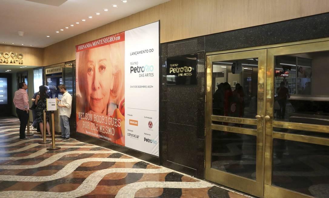 O Teatro PetroRio das Artes: inauguração marcada por monólogo com Fernanda Montenegro Foto: Divulgação/Reginaldo Teixeira