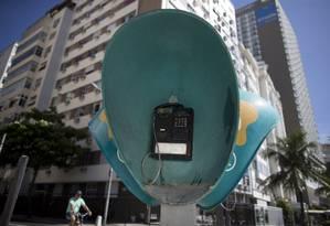 Sem uso, orelhões poderão ser desativados, e investimento focado para banda larga Foto: Márcia Foletto / Agência O Globo