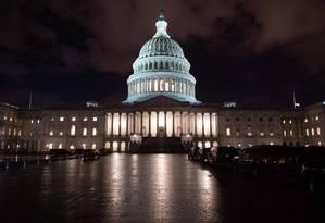 Capitólio, centro legislativo dos EUA Foto: SAUL LOEB / AFP