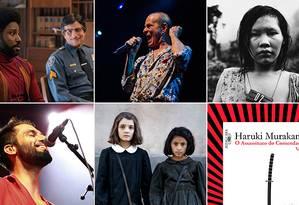 'Infiltrados na Klan', Ney Matogrosso, 'Arte democracia e liberdade', Silva, 'A amiga genial' e Haruki Murakami estão entre as dicas Foto: Divulgação