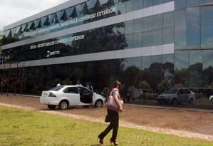 Prédio do Ministério do Desenvolvimento, Indústria e Comércio Exterior Foto: Givaldo Barbosa / Globo